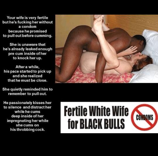 Wife no condom fucked